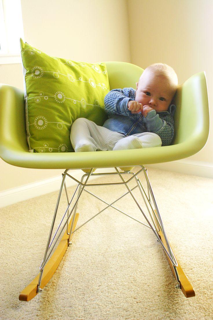 Кресло-качалка Eames Plastic RAR Дизайнер: Charles Eames, Ray Eames , 1950 #cosmorelax #chair #rar