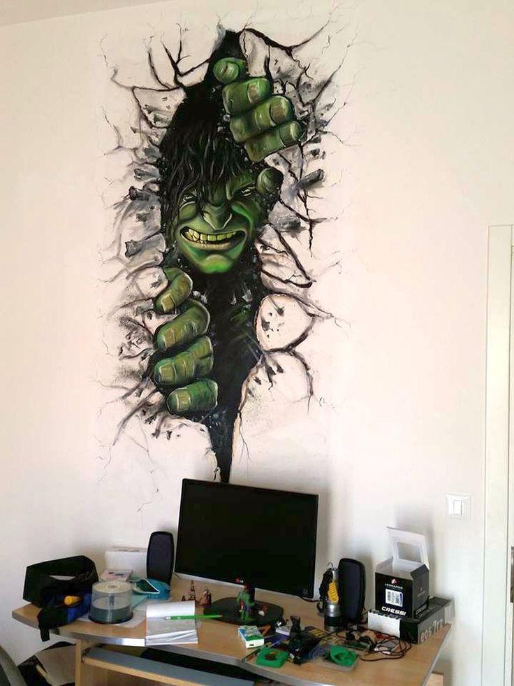 Hulk. Oil on canvas