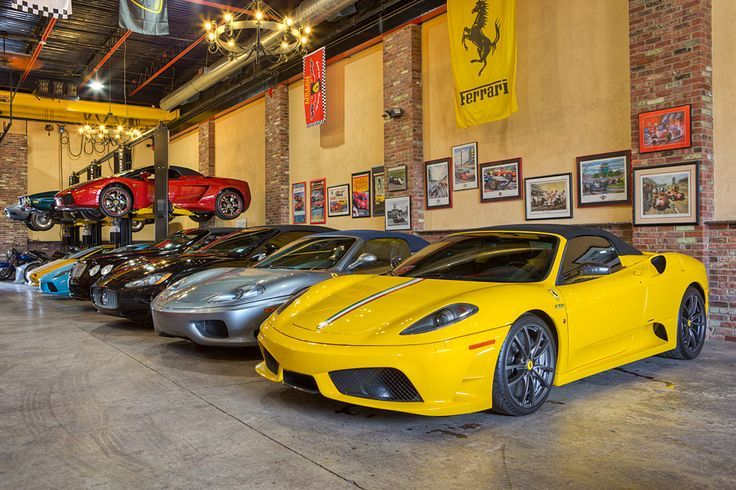 World 39 s most beautiful garages exotics insane garage for Garage bc automobile chateauroux