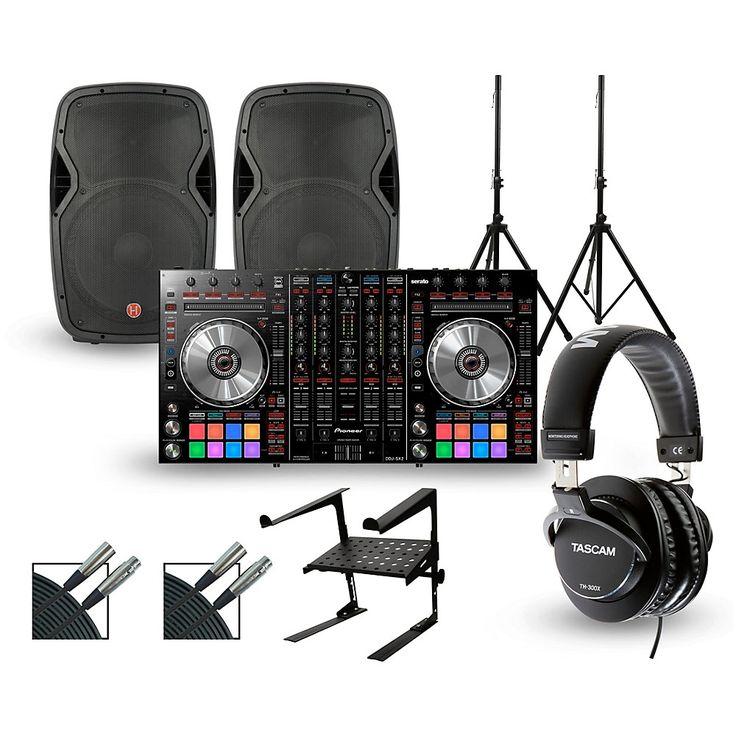 Pioneer DDJ-SX2 with Harbinger V1015 DJ Package