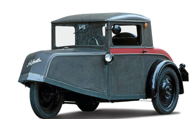 Goliath Pionier - one of the pre-war attempts to create a popular German car.