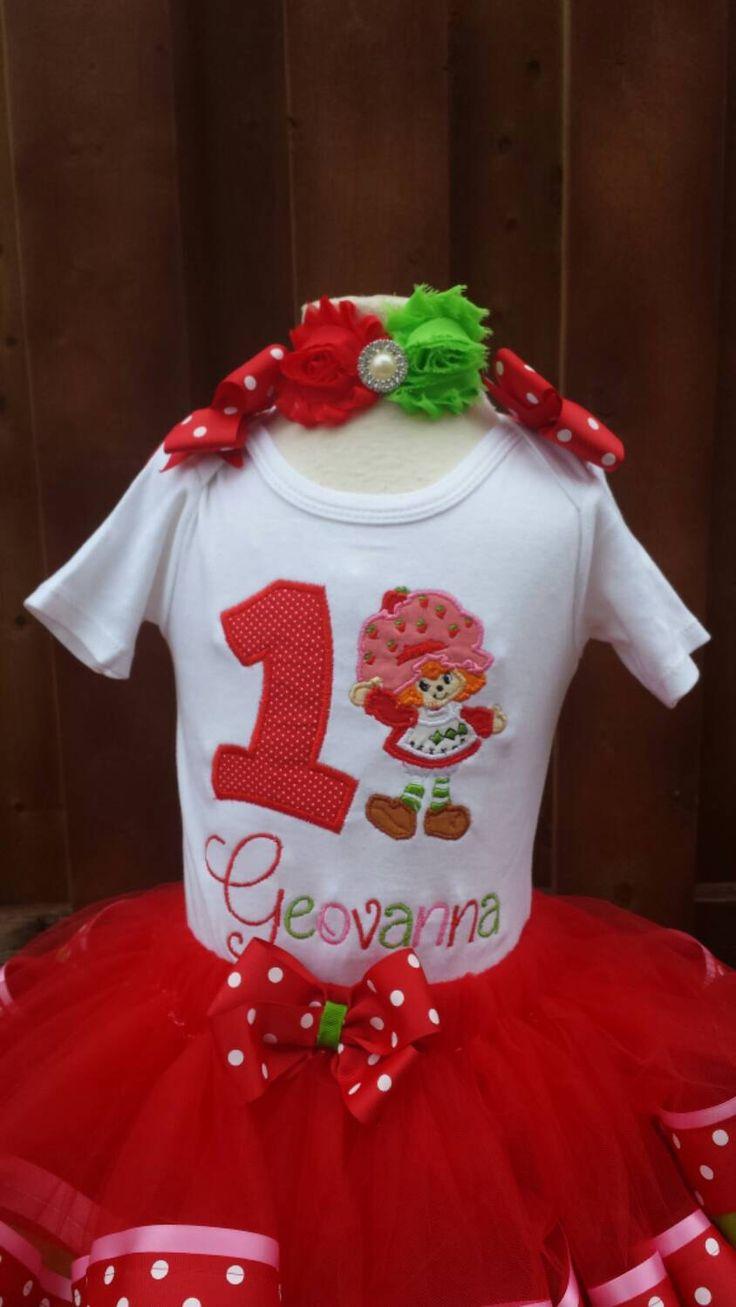 strawberry lady birthday shirt by AMcutetutuboutique on Etsy https://www.etsy.com/listing/223808519/strawberry-lady-birthday-shirt