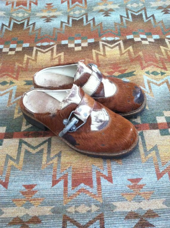 I wish I was a size 7....    Geier Wally Clogs Austra Ski Boots Cowhide Leather Clogs Ski Clogs Mountain Wear Vintage Ski Boots 37 Ski House Winter Boots Winter Clogs