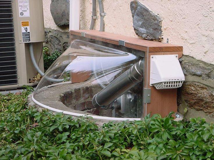 Elegant Basement Window Bubbles