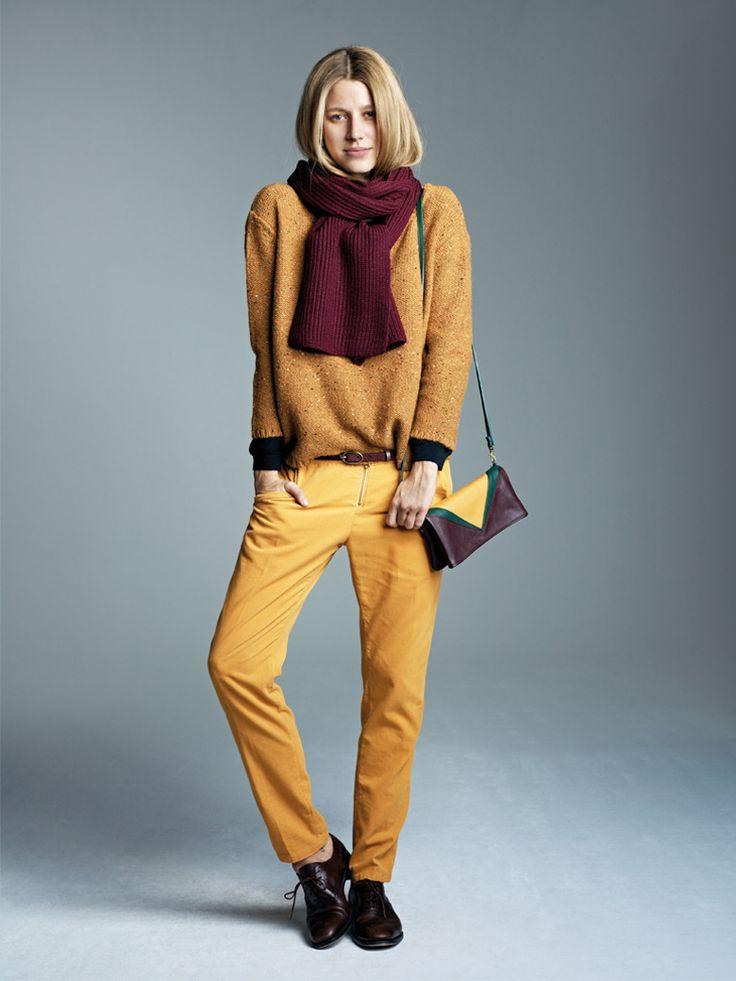 1000 id es sur le th me jean moutarde sur pinterest pantalon moutarde pant - Les couleurs qui vont avec le jaune ...