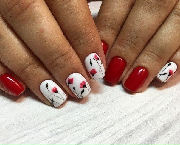 Best Nail Art Design: 25+ Best Ideas About Flower Nails On Pinterest