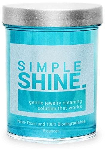 Gentle Jewelry Cleaner Solution | Gold Silver Fine & Fashion Jewelry Cleaning | Ammonia Free Clean