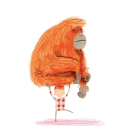 Now I've got it off my back, where in the hell do I put this? (awesome illustration by Artist Oliver Jeffers!)