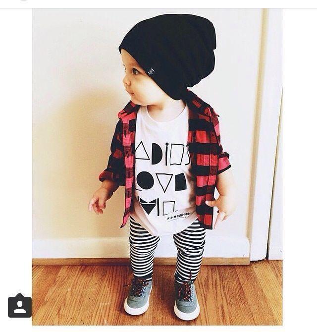 Style bébé garçon! – Pépinière – Chose pour bébé – #Baby #Boy #Nursery #sache #s …   – Babykleidung