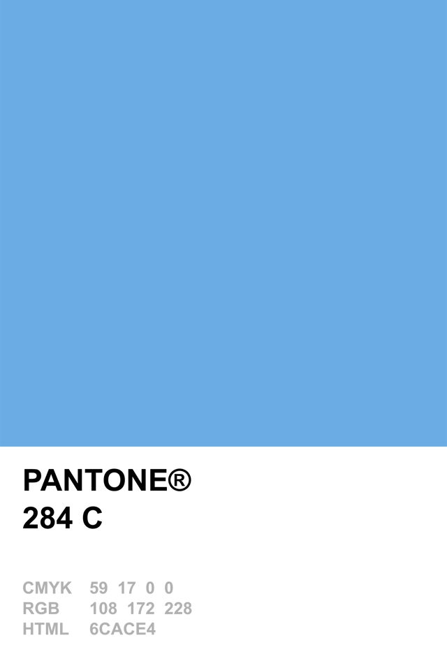 Pantone 284 C