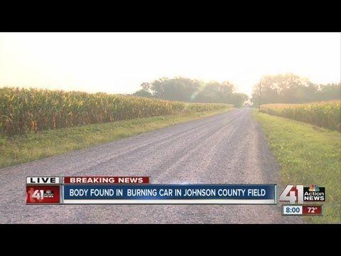 Body found in Johnson County car fire
