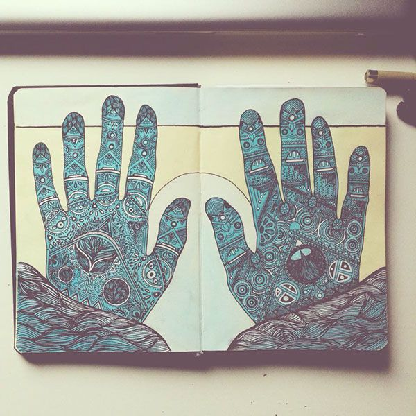 Hand Illustration on Behance