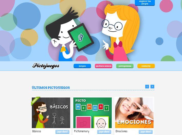 Pictojuegos: conjunto de aplicaciones (memory, puzzle, emociones, conceptos básicos, etc.) dirigidas a ayudar a personas que tienen dificultades de expresión mediante el lenguaje oral y que se comunican más eficientemente mediante imágenes.