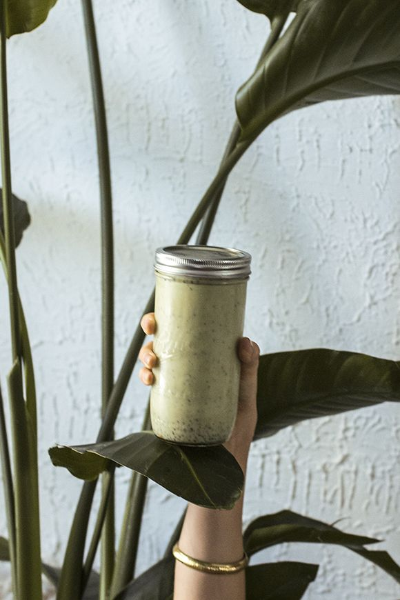 Morning Boost: Maca Chia Matcha Drink