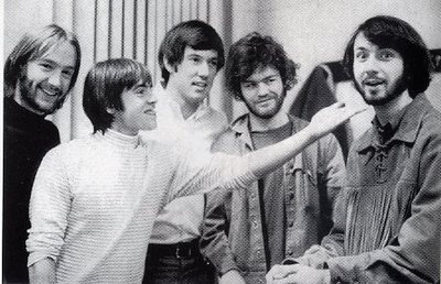 All of the Monkees have beards except Davy.