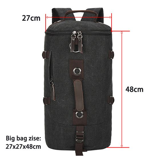 Homem de grande capacidade bolsa de viagem saco de montanhismo mochila homens sacos de lona bolsa de ombro balde 012 em Mochilas de Bagagem & Bags no AliExpress.com   Alibaba Group