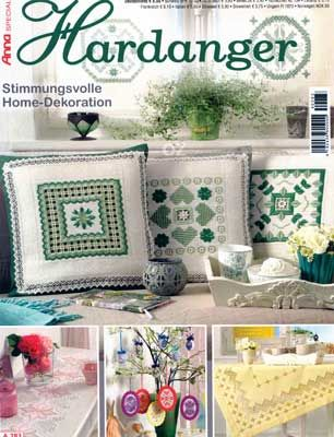 This Special Anna #Hardanger A283 is filled with #Spring designs. There are 62 designs in this issue! Choose designs for ornaments (6), #Easter eggs (6), doilies (13), table cloths and toppers (26), runners, curtains, pillows, and even a wind chime! The instructions are in German however, there are excellent diagrams. An experienced stitcher should have no problem making these creations. 31 pages PLUS pull out charts. #needlework #embroidery #stitching