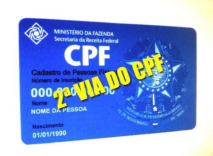 2ª VIA CPF