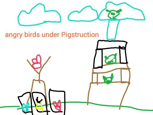 Angry birds under Pigstruction1