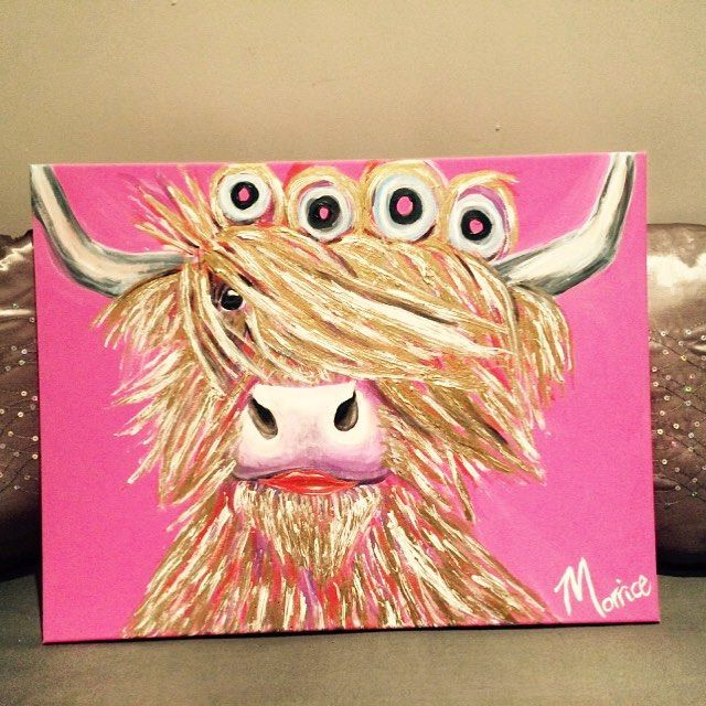 All The Right Junk in All The Right Places!  Free Giveaway to local Hairdressers! Ok so if you think this lovely lady would look good in your salon, let me Know and you can have her - I work for vouchers ❤️A2 acrylic.  #cow#cowart#cowtraits #painter#painting #art#scottishartist #scottishart #edinburghart #edinburghartist #instaart#artofttheday#salon #hairdressers #edinburghsalon #beautysalon #beautyedinburgh #highlandcowart #highlandcow#cowlove#edinburghbloggers#edinburgh #edinburghbeauty