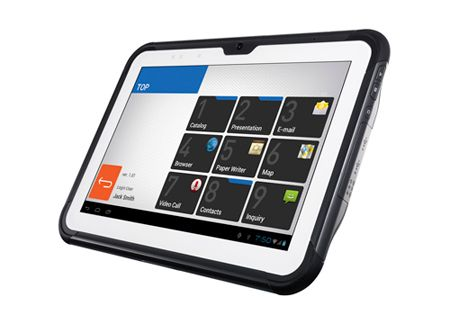 Casio V-T500-GE and V-T500E Rugged Tablet 10.1 inch ICS Review, Specs and Features