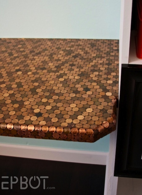 Penny Desk...well, maybe not a desk, but I'd do this on the floor