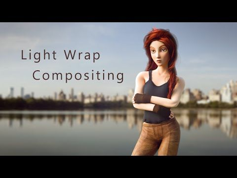 Download the node setup for free here: http://www.pasteall.org/blend/36076  Make your #b3d animation and VFX composites look awesome with this fast light wrapping technique!