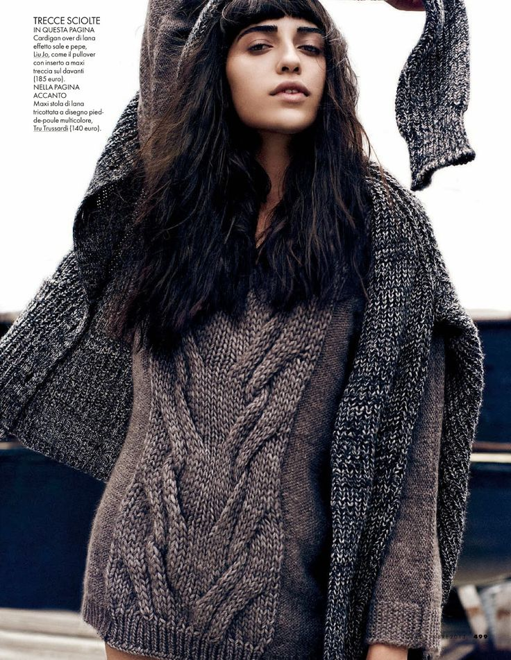 Double cable insert: vanessa moreira by dan martensen for elle italia october 2013...