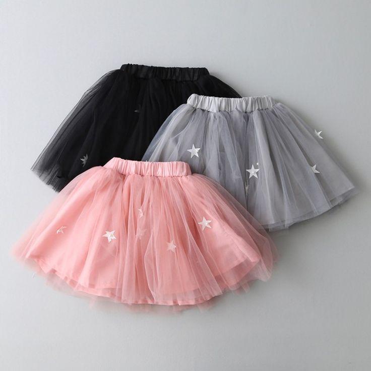 Hermosas faldas de tul para niñas 5
