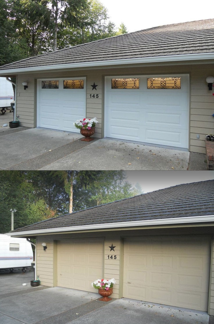 These are clopay steel insulated doors with an r value of for Clopay steel garage doors