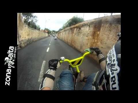 Drift Trike Barreira - Funchal 5.1km - Descida Louca - YouTube