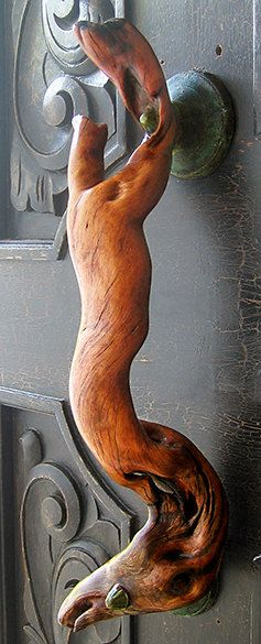 "Driftwood Door Pull  ""Venus"""
