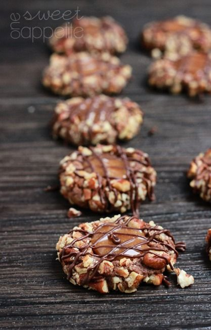 Caramel Pecan Thumbprint Cookies - Easy To Make Family Recipes   One Sweet Appetite