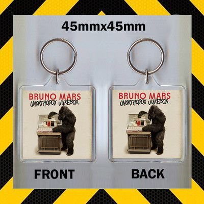 Bruno Mars Unorthodox Jukebox CD Cover Keyring CD543 | eBay