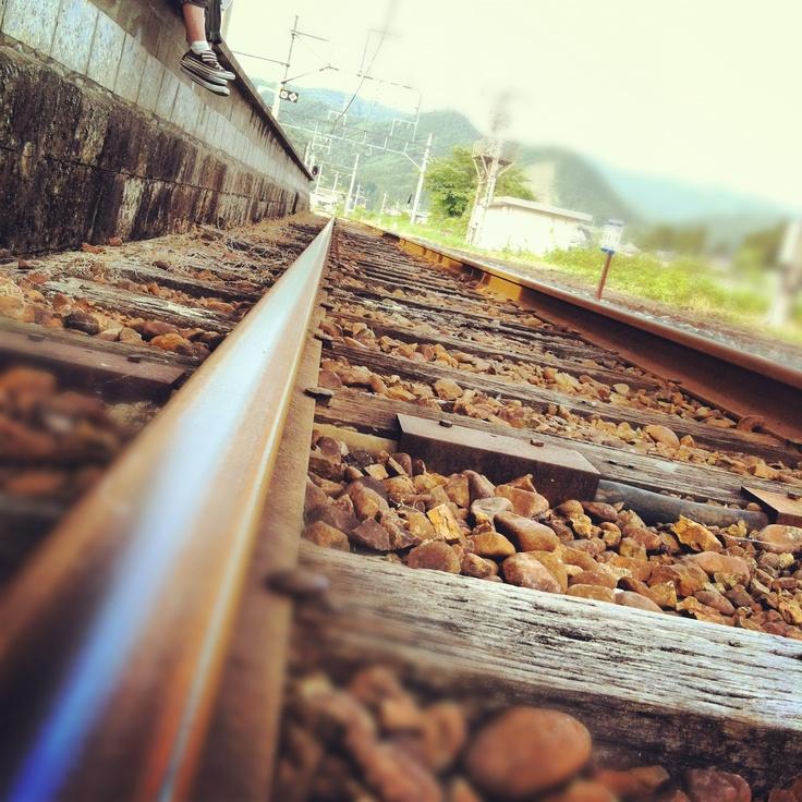 Railway in Japan.