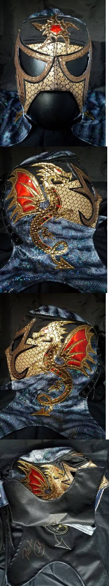 Wrestling 2902: Penta 0M Mask Signed Lucha Underground Wwe Aaa Cmll -> BUY IT NOW ONLY: $200 on eBay!