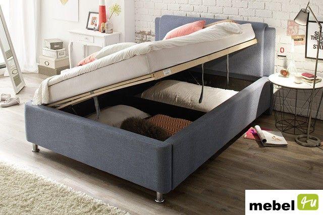 Łóżko PRADO z pojemnikiem i stelażem - sklep meblowy