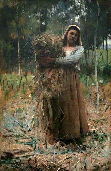 The Faggot Collector, 1880 by Arthur Melville (1855-1904)