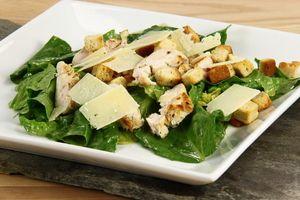 Cæsar salat (med kylling) 4