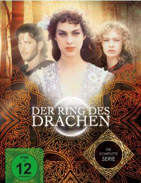 DVD des italienischen Fantasyfilms Der Ring Des Drachen mit Darstellern wie u. a. Franco Nero, Sophie von Kessel (DVD; VÖ: 07.10.2016; Studio 100 Media) sowie BD/DVD Prinzessin Fantaghirò + DVD Die Falsche Prinzessin (VÖ: 07.10.2016; Studio 100)