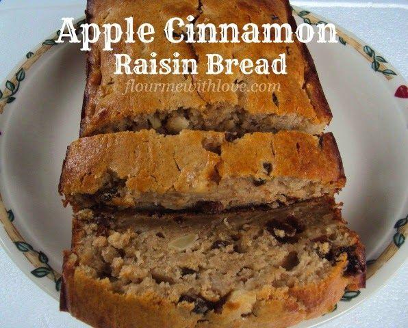 31 Best Raisin Bread Images On Pinterest: Apple Cinnamon Raisin Quick Bread...simple & Delicious