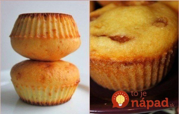 Nadýchané, vláčne aúžasne chutné. Také sú mäkkučké muffiny od svetoznámeho…