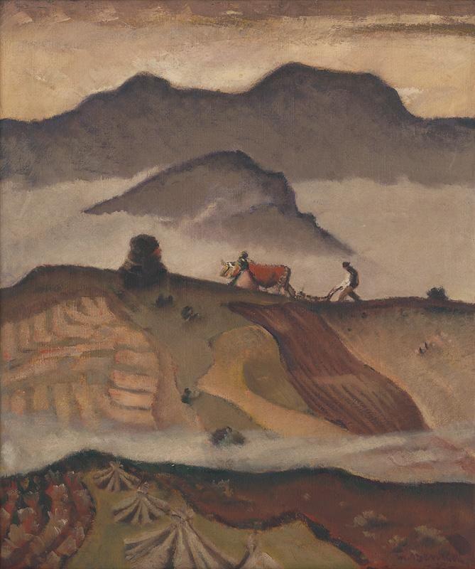 Martin Benka - Oráč, 1935