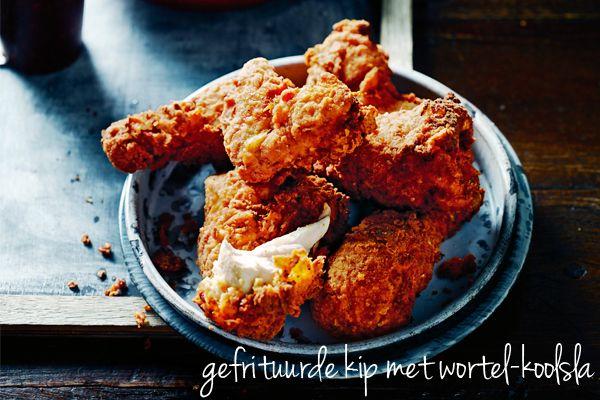 Gefrituurde kip - Delicious.nl