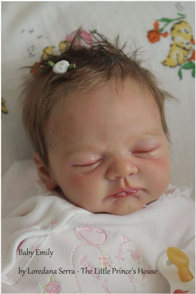 Ylenia by Elisa Marx Reborn Doll Baby Girl - The Little Prince s House