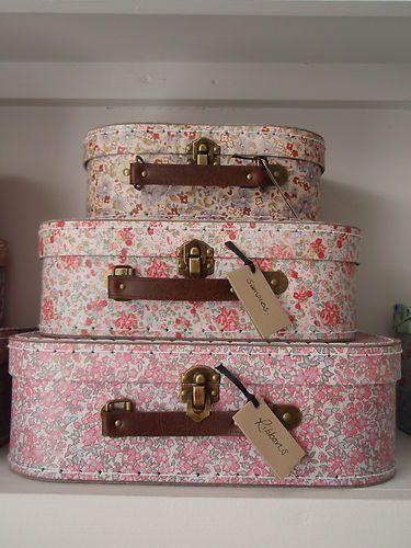 Sass & Belle Vintage Storage Suitcases | eBay UK