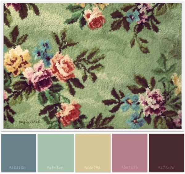 Grandma's carpet!!!!!!!