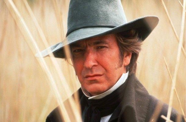 """Als Colonel Brandon in Ang Lees Verfilmung des Jane-Austen-Romans """"Sinn und Sinnlichkeit"""", 1995."""