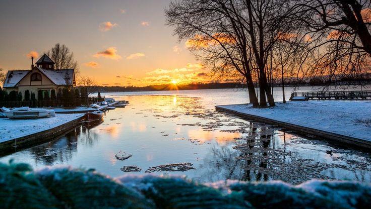 Ujście rzeki Ełk do jeziora Ełckiego