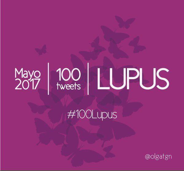 #241 #100Lupus por Mes del #Lupus (mayo)
